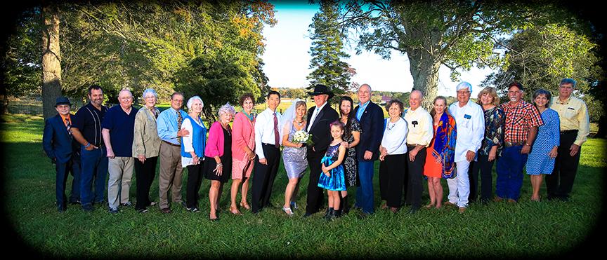 pano group wv farm wedding