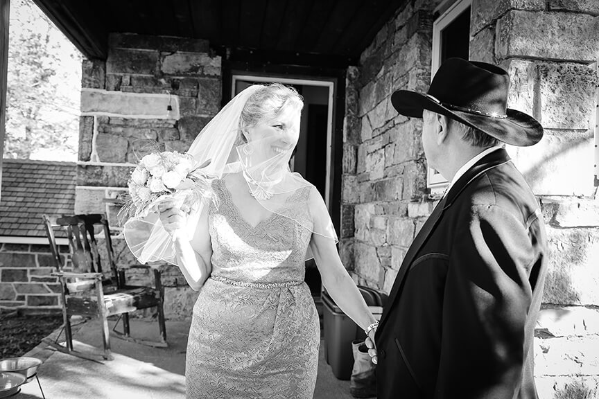 first look bride groom wv farm