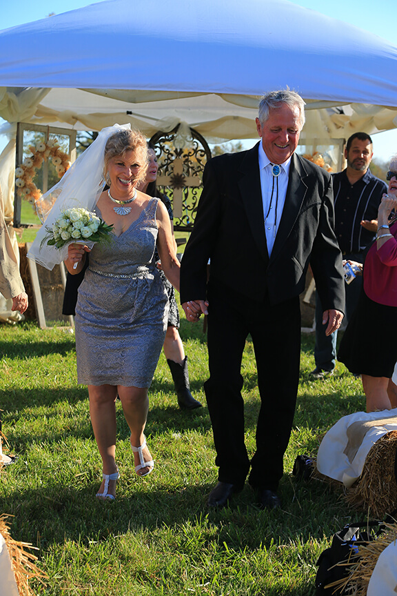 wedding ceremony wv farm