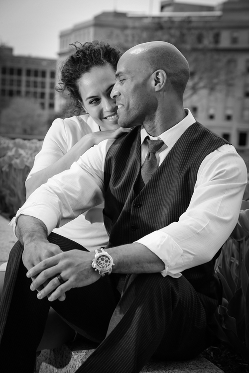 DC Engagement Portraits Vogue Style