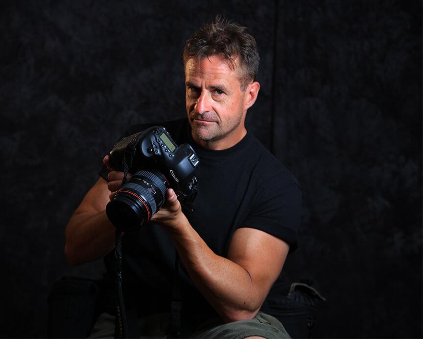 Professional Photographer - In Studio