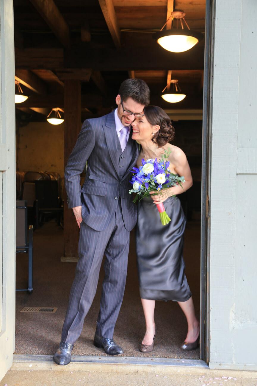 non traditional bride groom