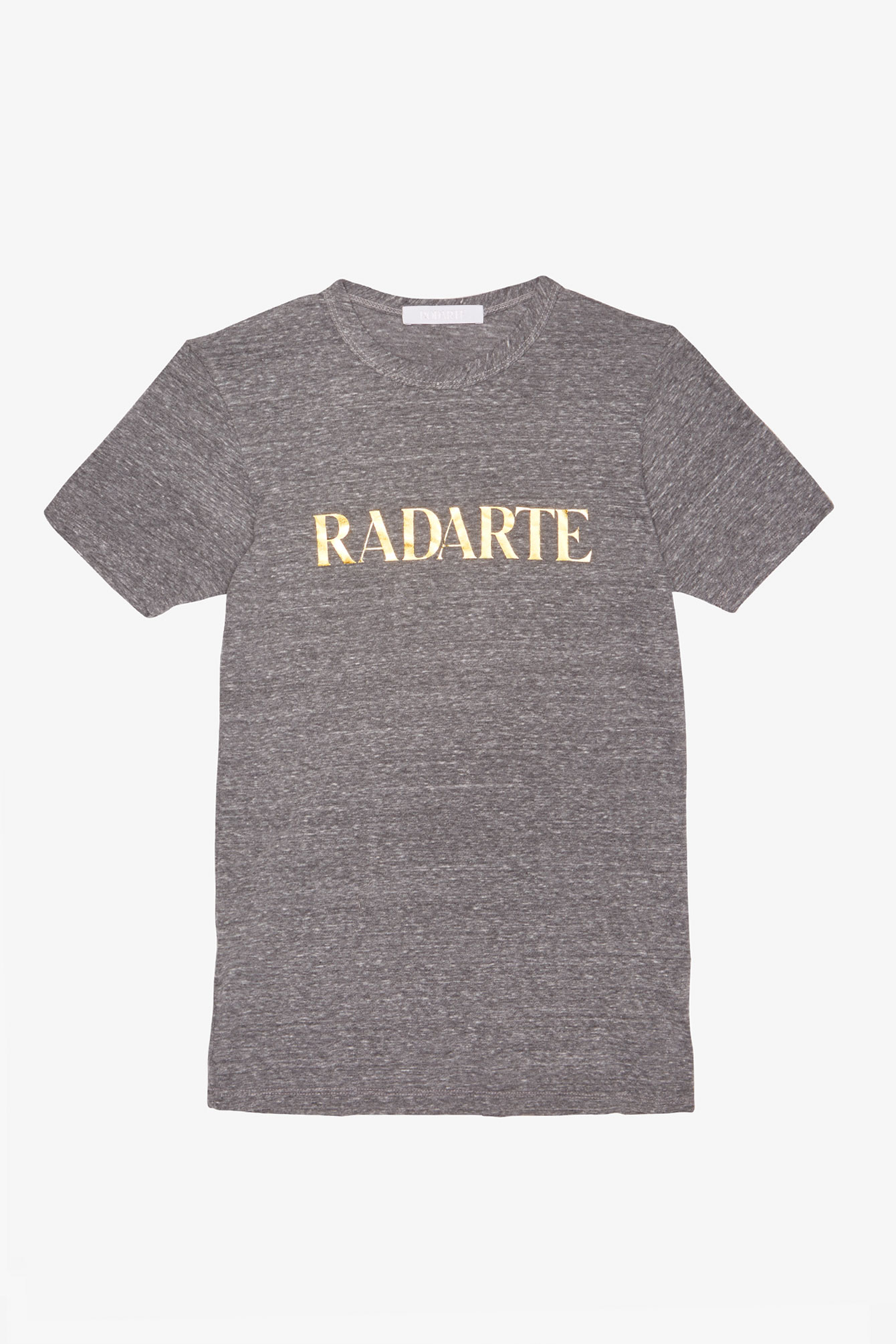 Grey Radarte Foil T Shirt Gold