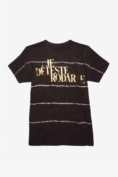 Black Love/Hate Tie Dye T-Shirt — Rodarte