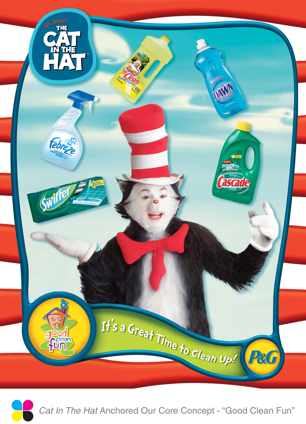 p g cat in the hat concept one communications