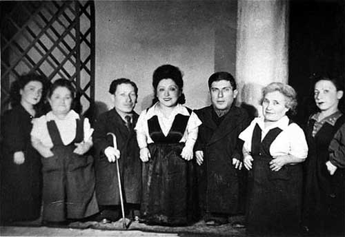 The Ovitz family from Transylvania