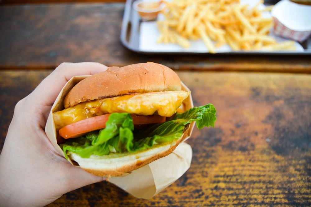 Teriyaki Burger, Bubba's | Birdie Shoots Kauai Diary