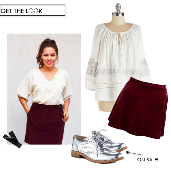The Look | Boho in Burgundy