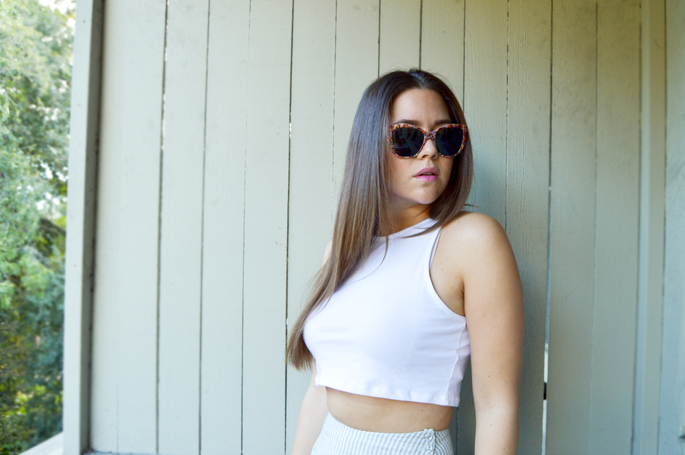 Crop Top & Midi via. Birdie Shoots