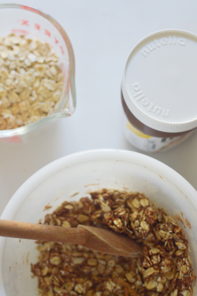 Nutella Granola via. Birdie Shoots