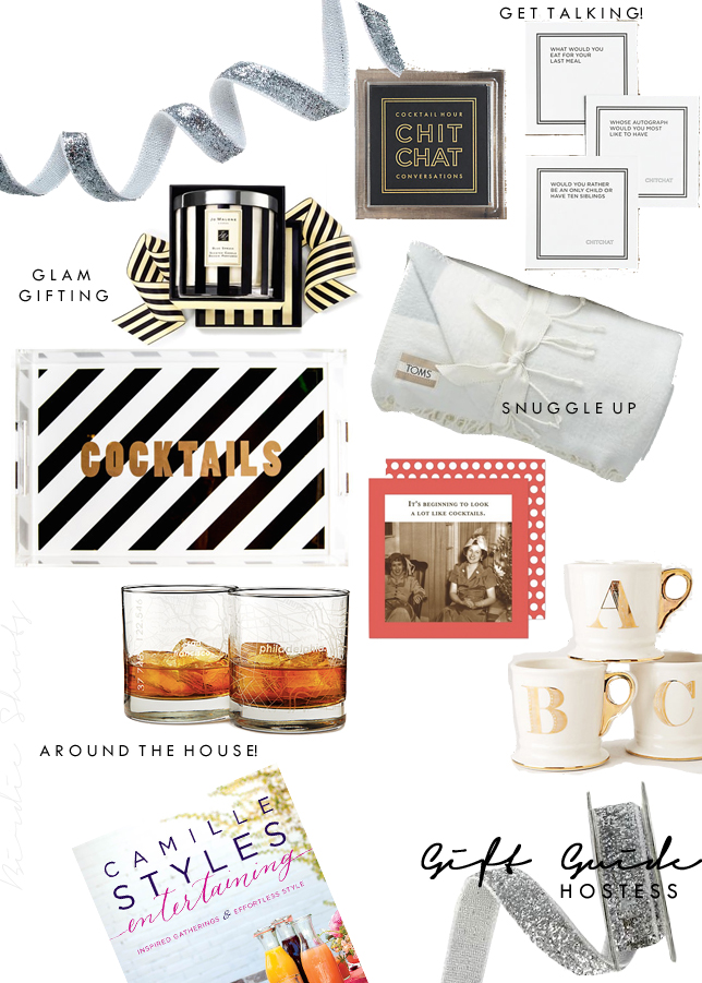 GUIDE TO GIFTING THE HOSTESS via. Birdie Shoots