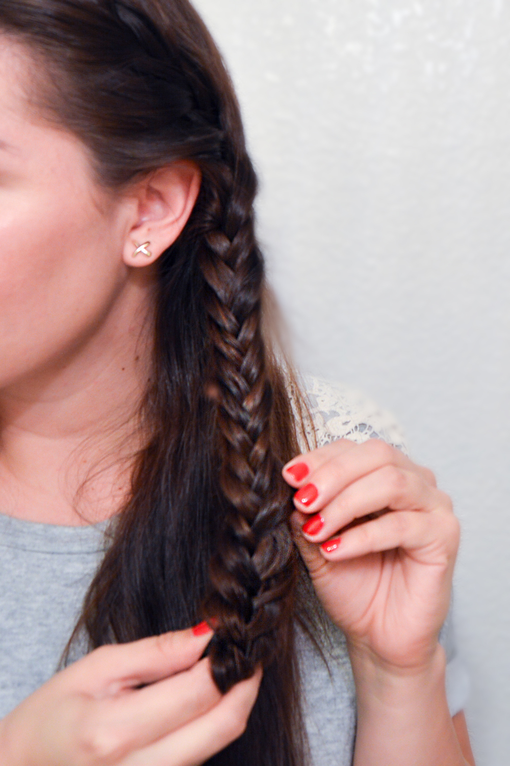 Double Fishtail Braid via. Birdie Shoots