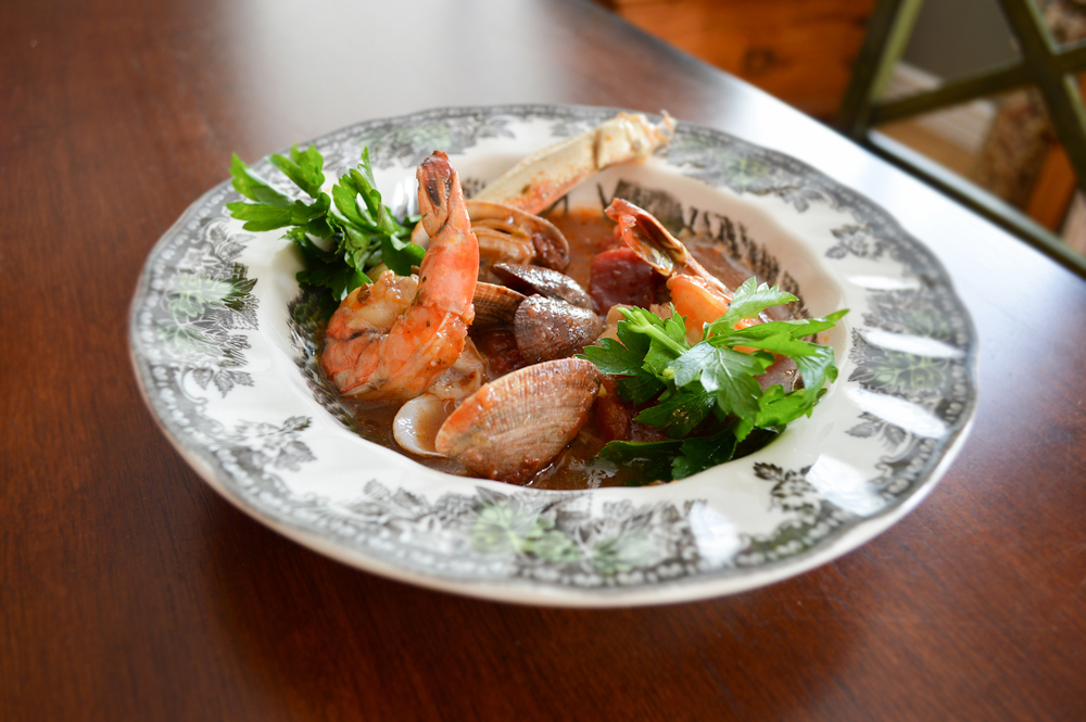 Cioppino Seafood Stew Recipe via. Birdie Shoots