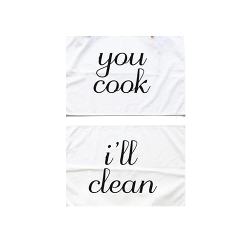 Cook & Clean Towel Set via. Birdie Shoots