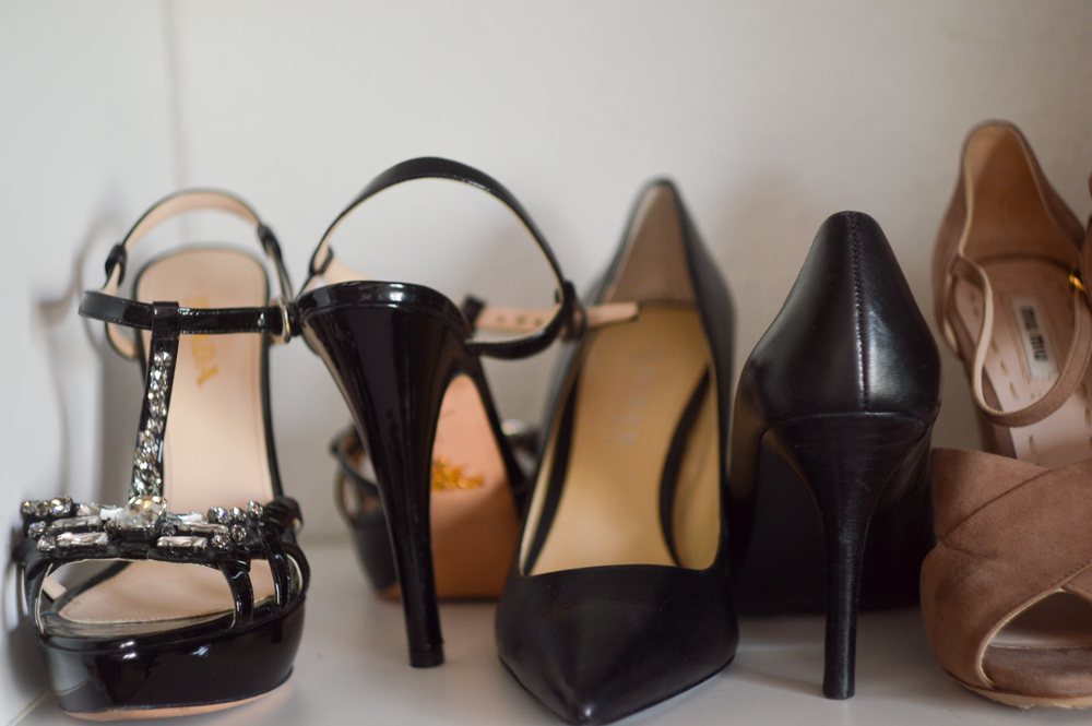 Your Guide to shoe organization via. Birdie Shoots