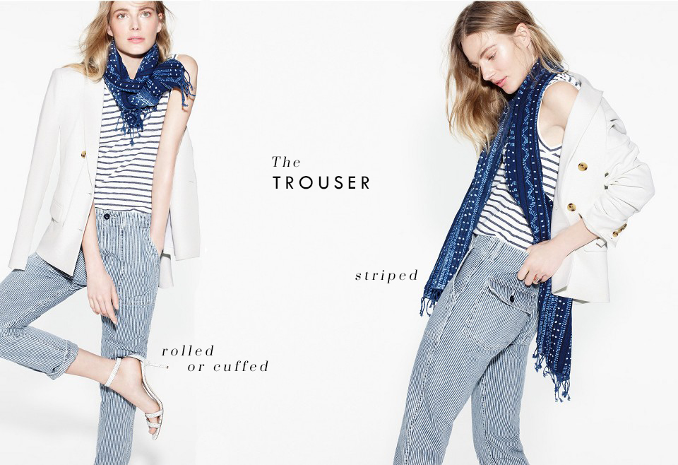 The trouser via. Birdie Shoots