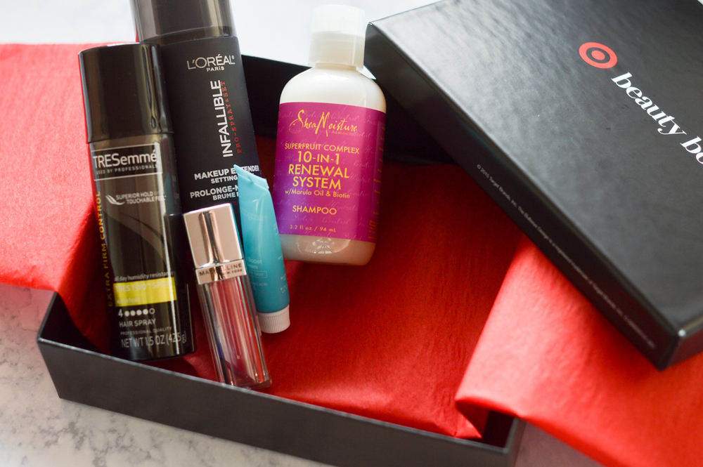 Target Beauty Box via. Birdie Shoots