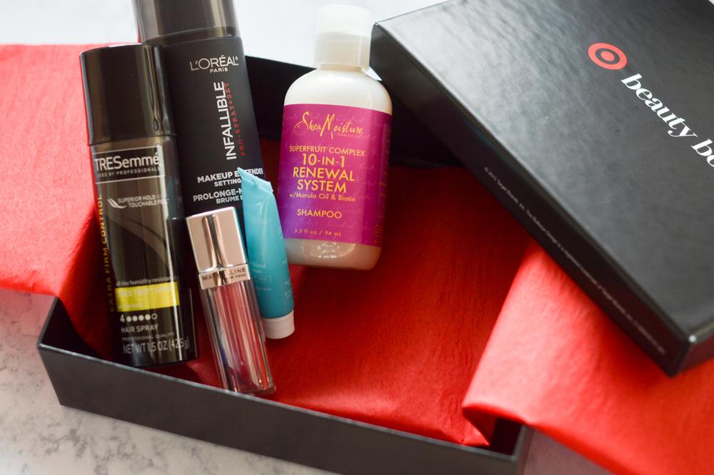 Target Beauty Box via. Birdie Shoots