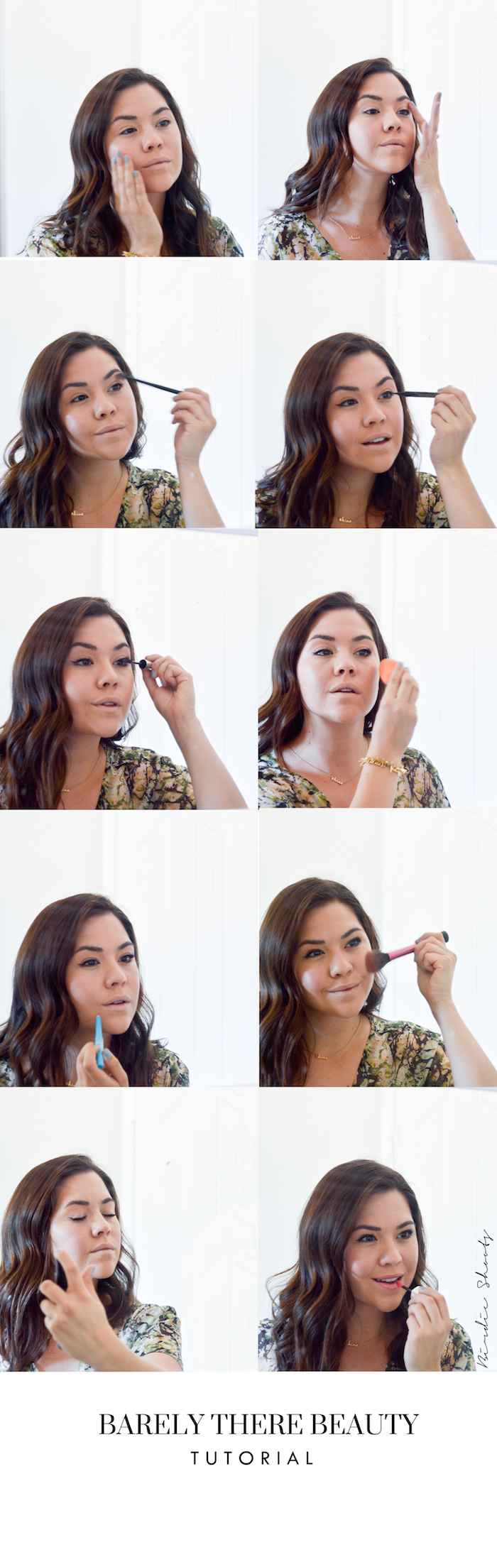 Barely There Beauty Tutorial via. Birdie Shoots