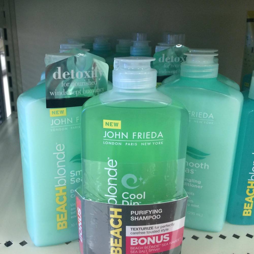 John Frieda is available at Walmart