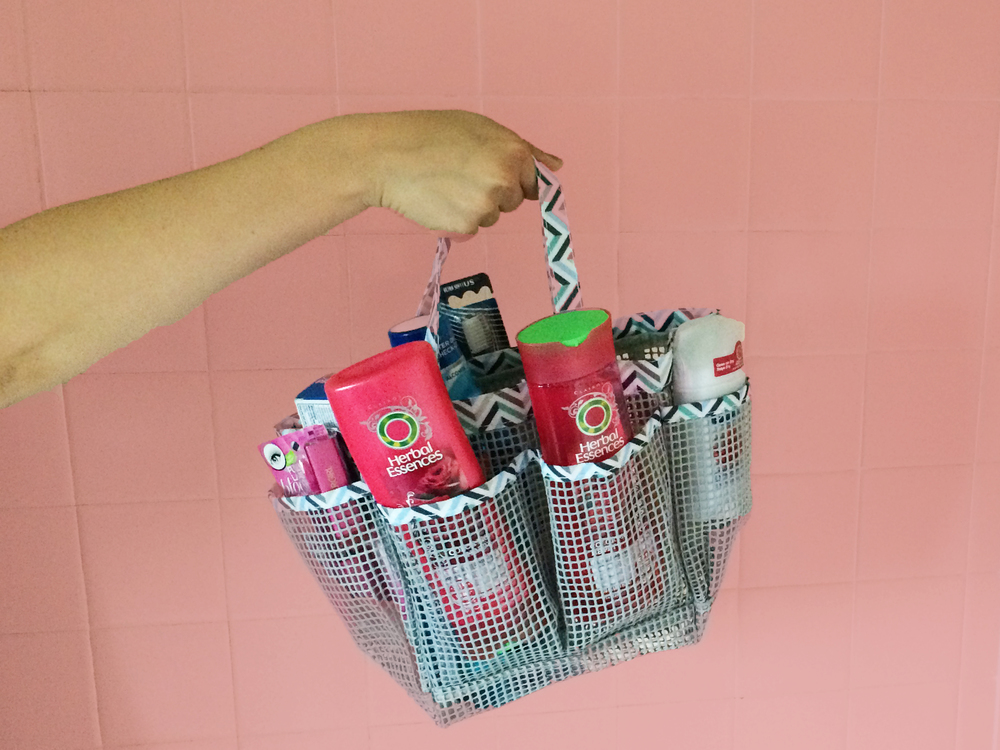 Back to Campus Bathroom Essentials via. Birdie Shoots