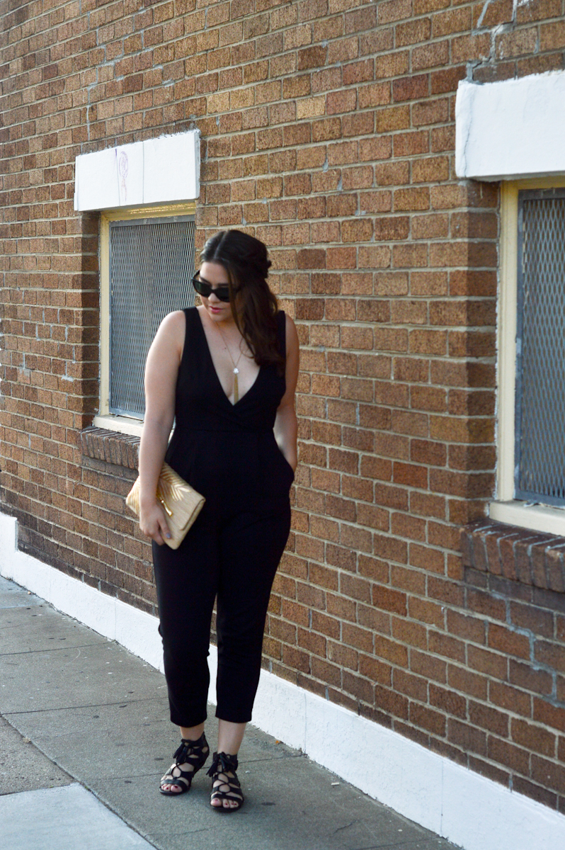 Date Night Jumpsuit via. Birdie Shoots