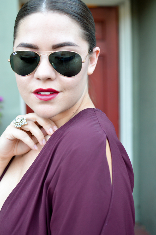 Mad for Maroon via. Birdie Shoots
