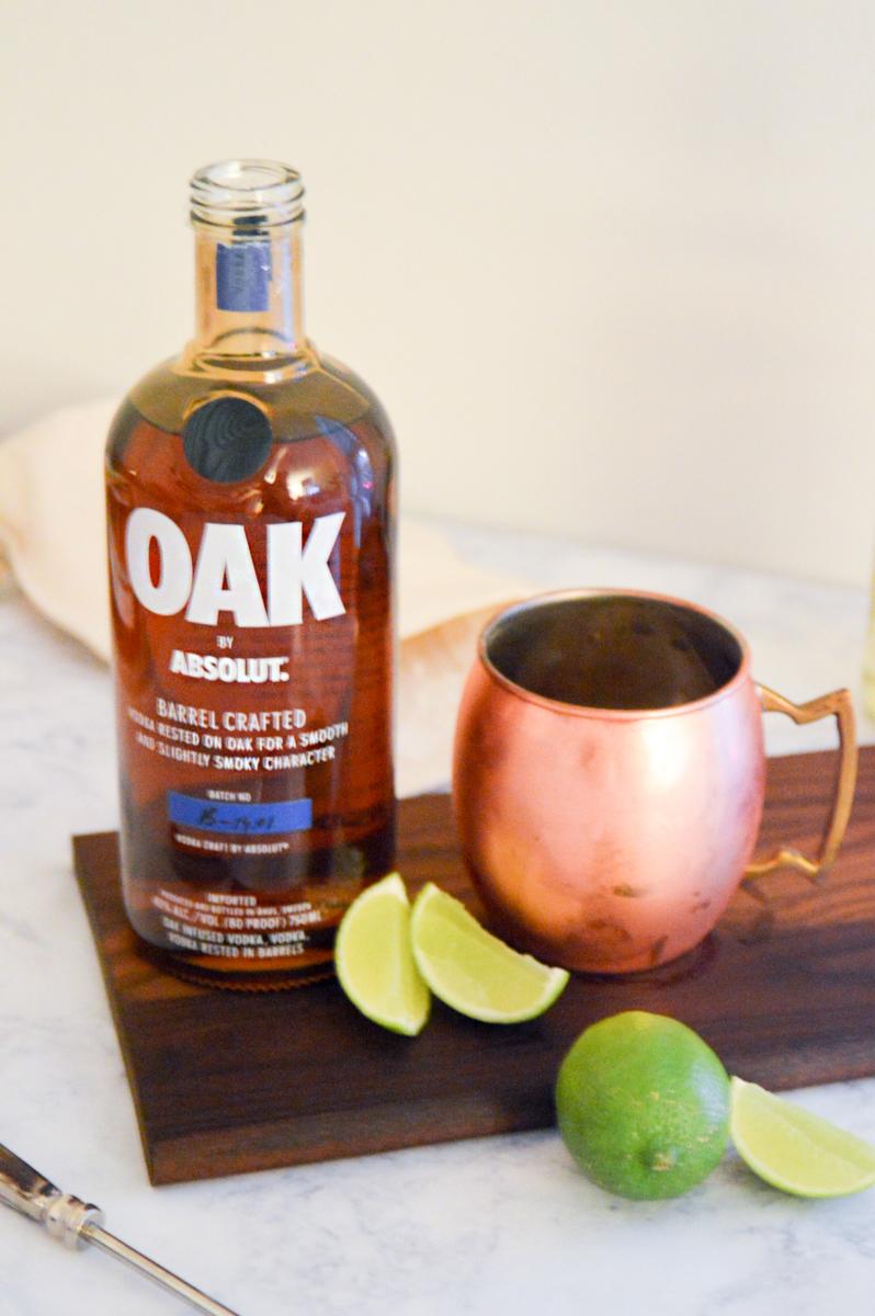 Absolute OAK Dark and Stormy Cocktail Recipe via. www.birdieshoots.com