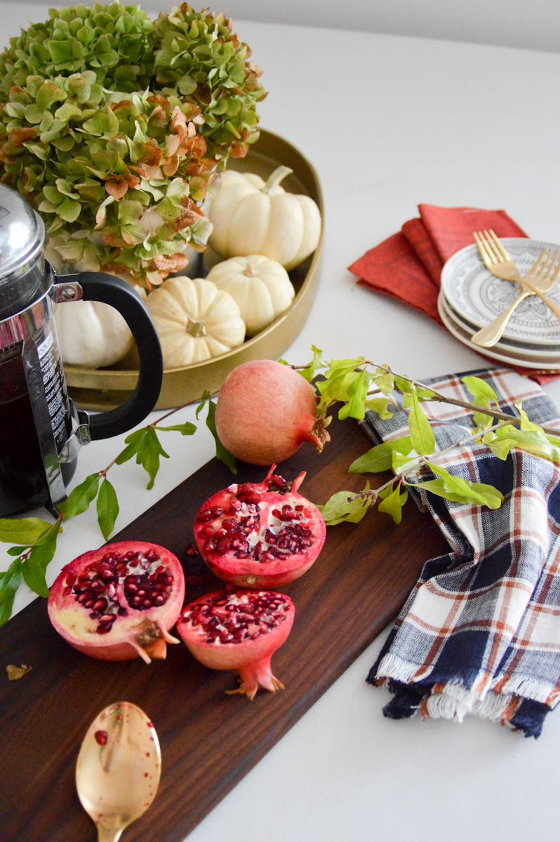 Fall Tablescape design via. Birdie Shoots #targetstyle