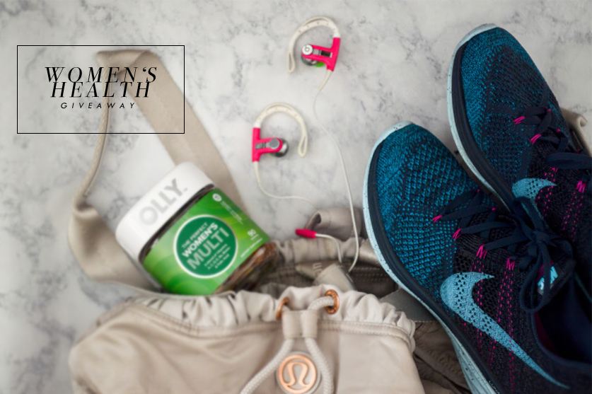 Women's Health Giveaway via. Birdie Shoots