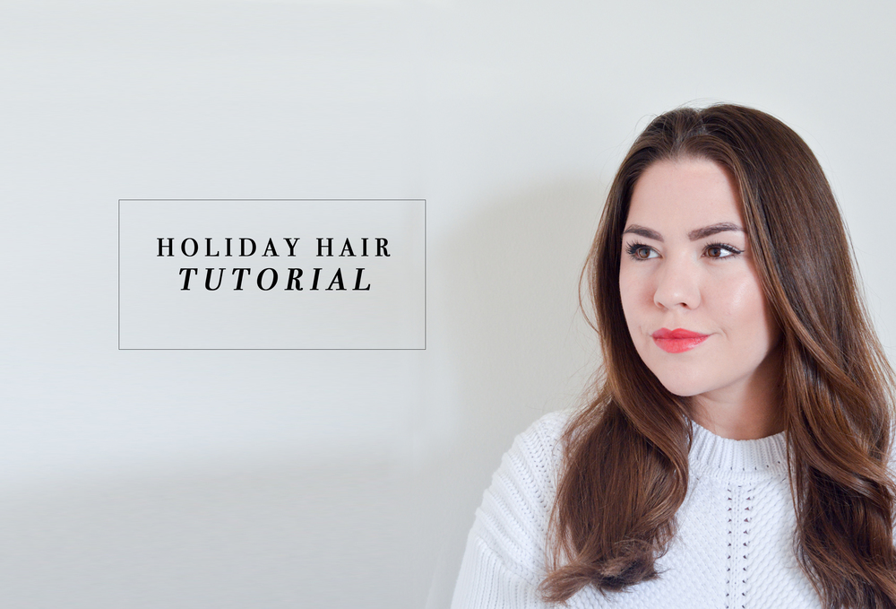 Holiday Hair Tutorial via. Birdie Shoots