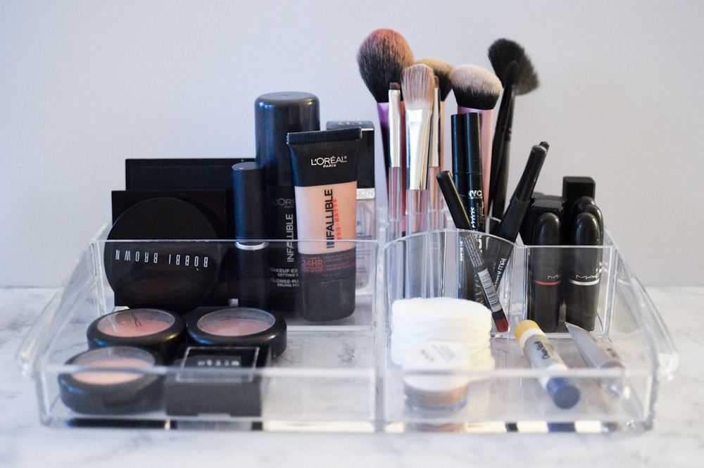 Cosmetic Organization via. Birdie Shoots