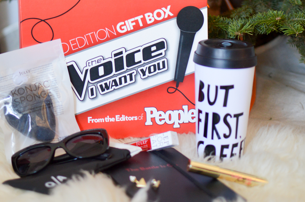 People The Voice Gift Box via. Birdie Shoots