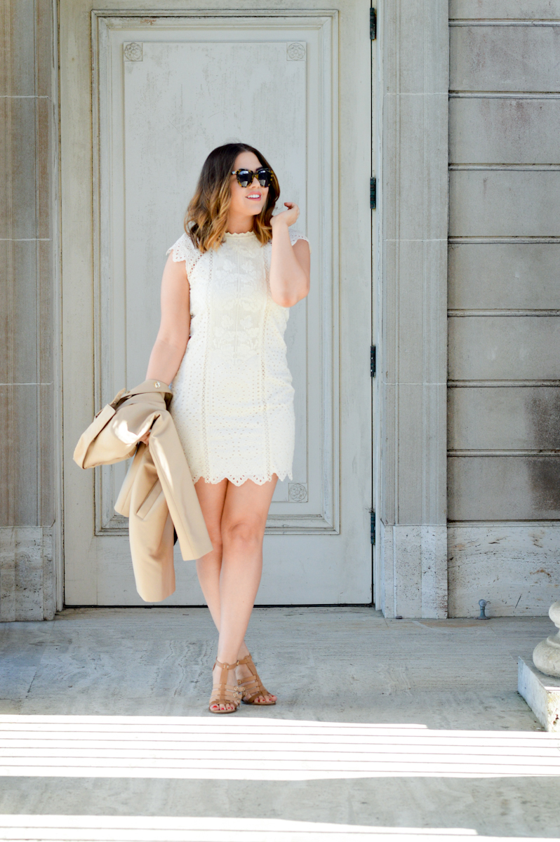 Little White Dress via. www.birdieshoots.com