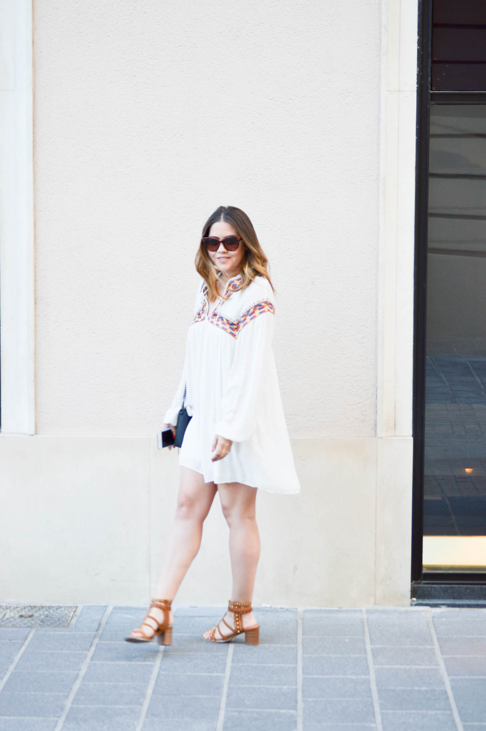Summer Zara Bohemian Dress via. www.birdieshoots.com
