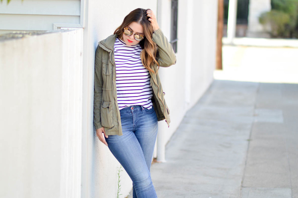 Casual Friday, Life in Denim via. www.birdieshoots.com