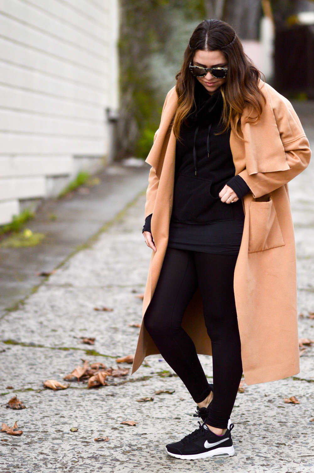 Late Fall Layering with Uniqlo Heat Tech #uniqlolifewear via. www.birdieshoots.com