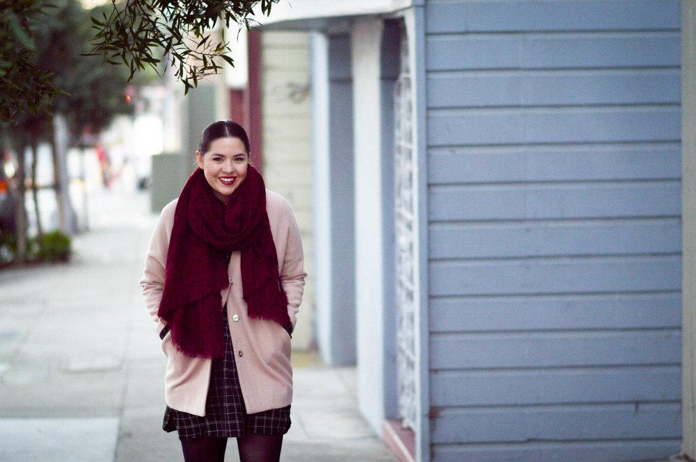 6 Ways to Refresh Your Winter Wardrobe via. www.birdieshoots.com