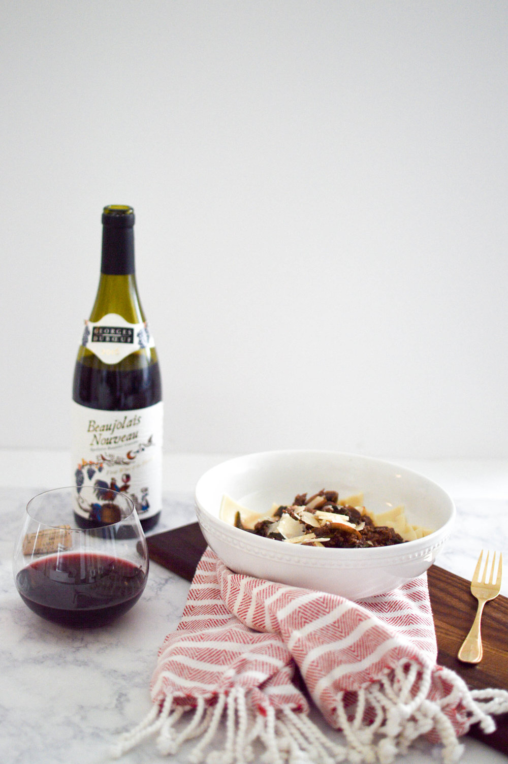 Date Night at Home with Duboeuf Wines via. www.birdieshoots.com
