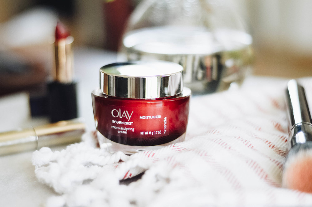 The Best Inexpensive Face Cream with Olay via. www.birdieshoots.com