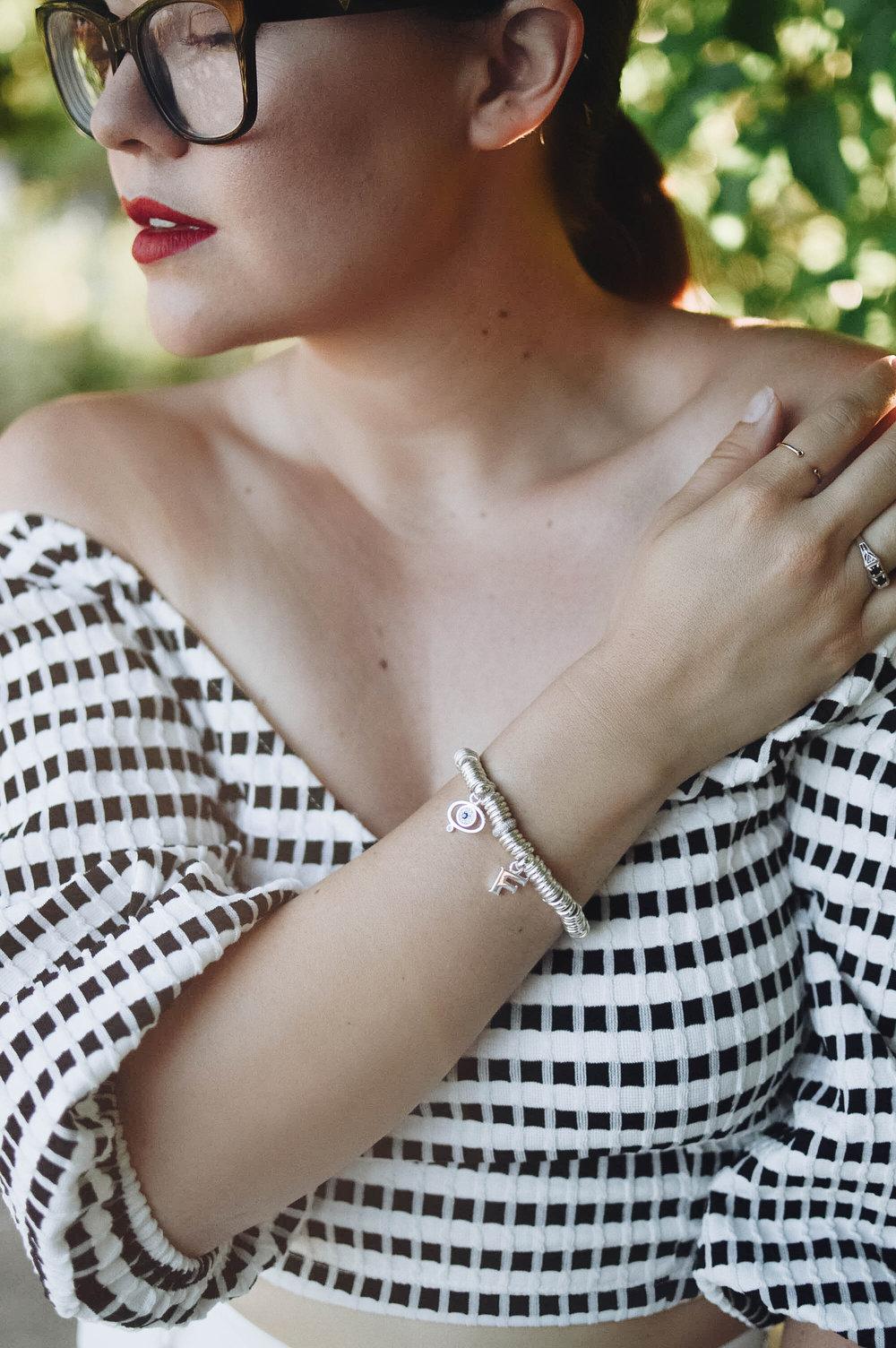 Not your Traditional Charm Bracelet via. www.birdieshoots.com