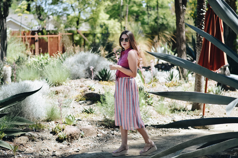 Summer Separates with ModCloth via. www.birdieshoots.com