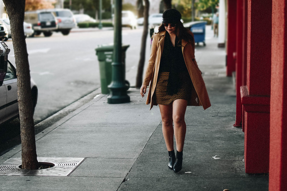 How to Style A Newsboy Cap via. www.birdieshoots.com
