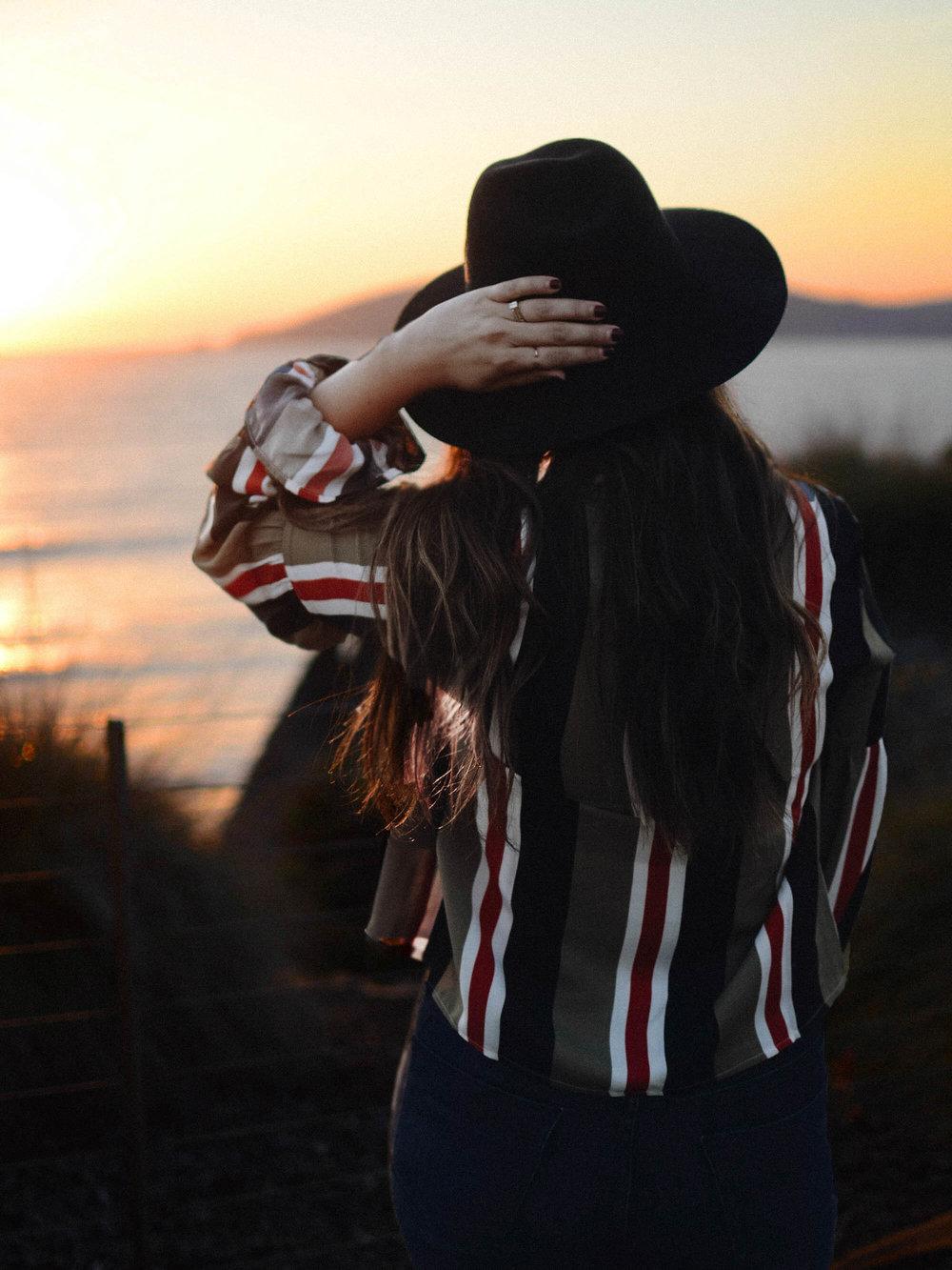 How to Style Seasonal Stripes via. Birdie Shoots