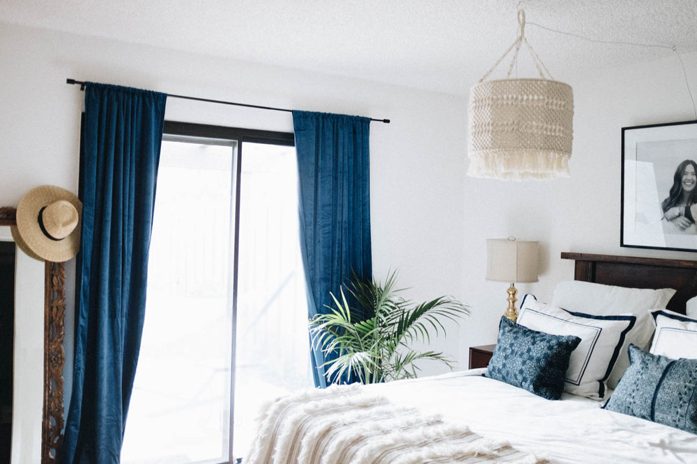 Bedroom Reveal with Framebridge