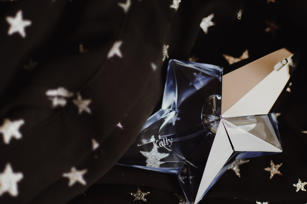 Mugler ANGEL perfume via. Birdie Shoots