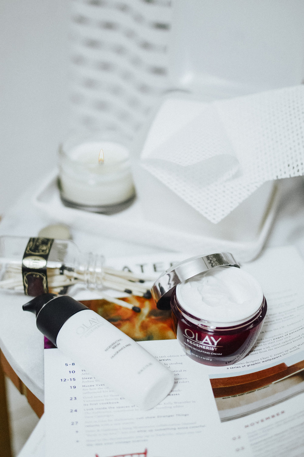 How to Stay True To Beauty Resolutions with Olay via. Birdie Shoots