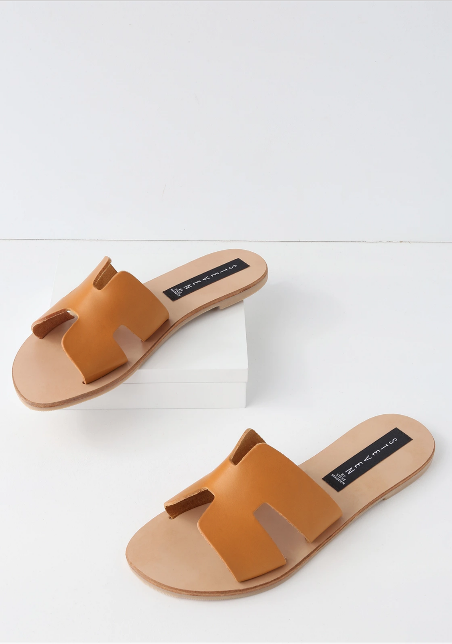 Affordable Hermes Dupe Sandals via. Birdie Shoots