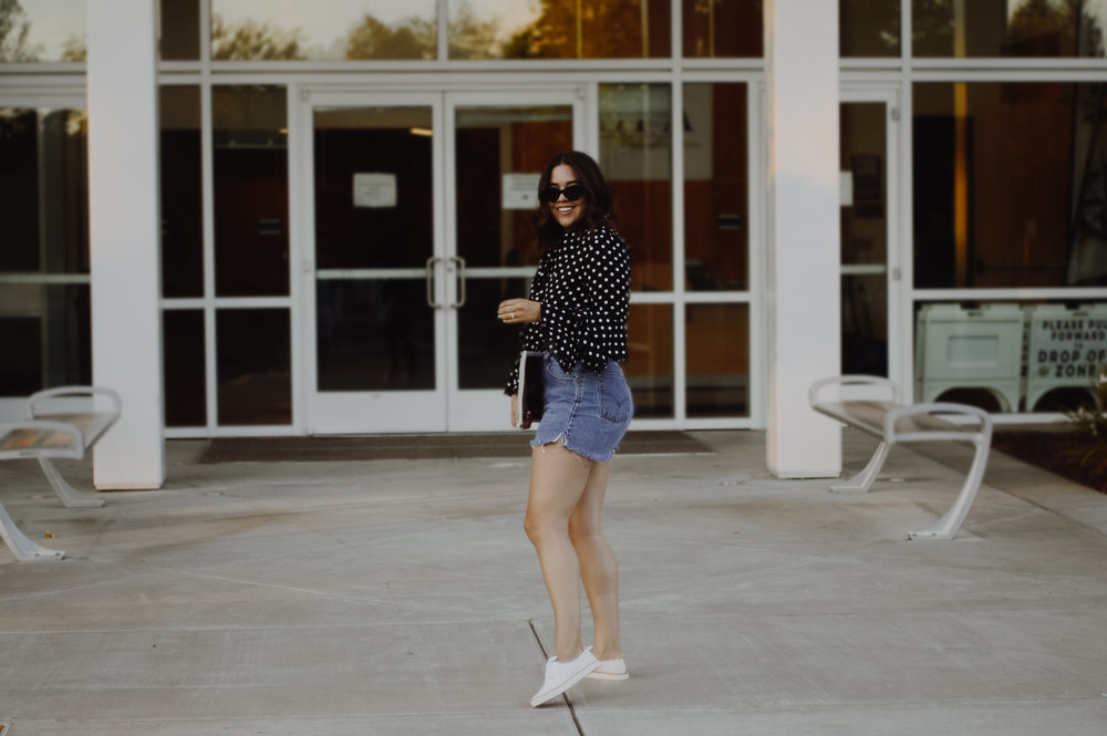 Two Ways to Style Sneakers This Season with Macy's via. Birdie Shoots  | www.birdieshoots.com