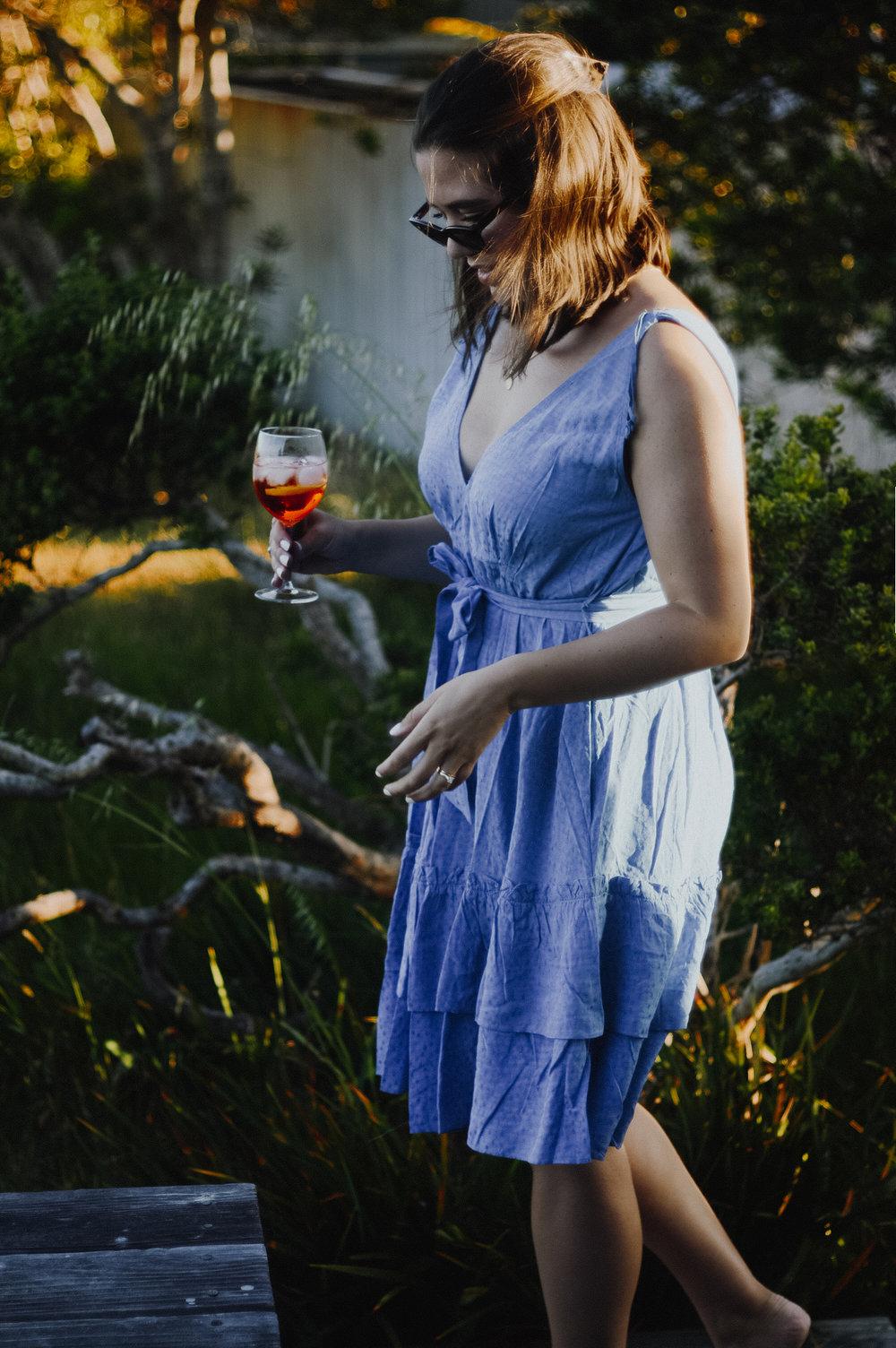 Aperol Spritz Recipe via. Birdie Shoots | www.birdieshoots.com